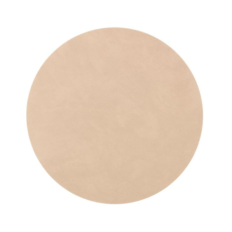 Circle Table Mat, M, Nupo Leather