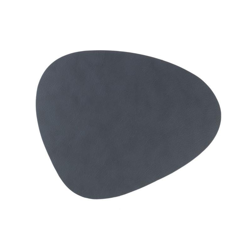 Curve Floor Mat, Cloud Leather, Anthracite