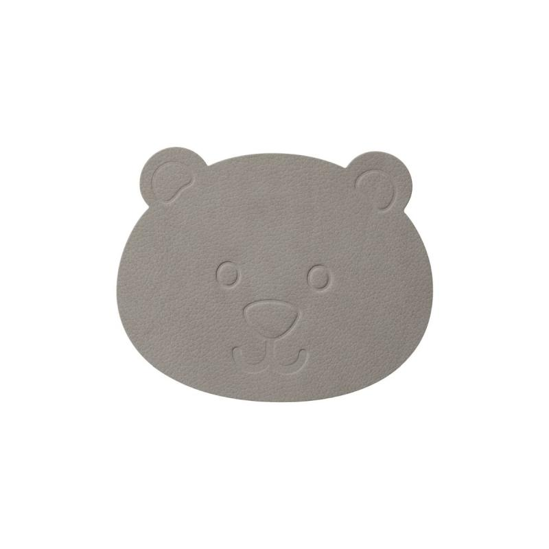 Bear Glass Mat, Nupo Leather
