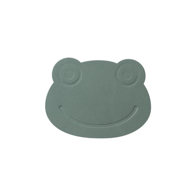 Frog Glass Mat, Nupo Leather