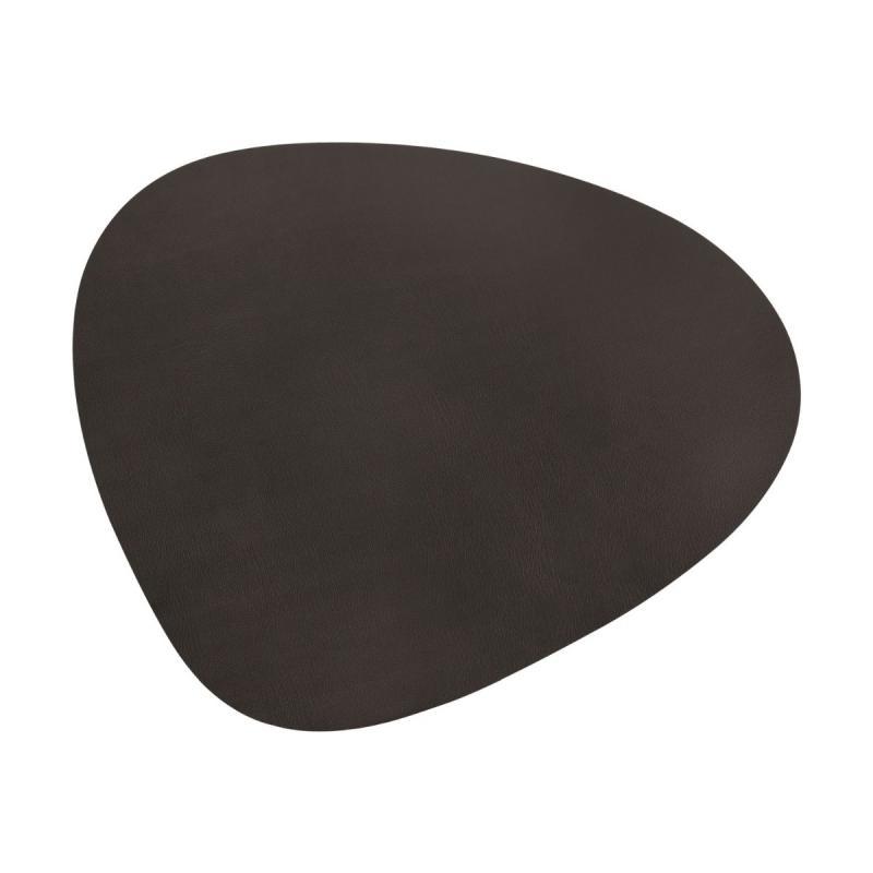 Curve Floor Mat, XXXL, Bull Leather, Brown