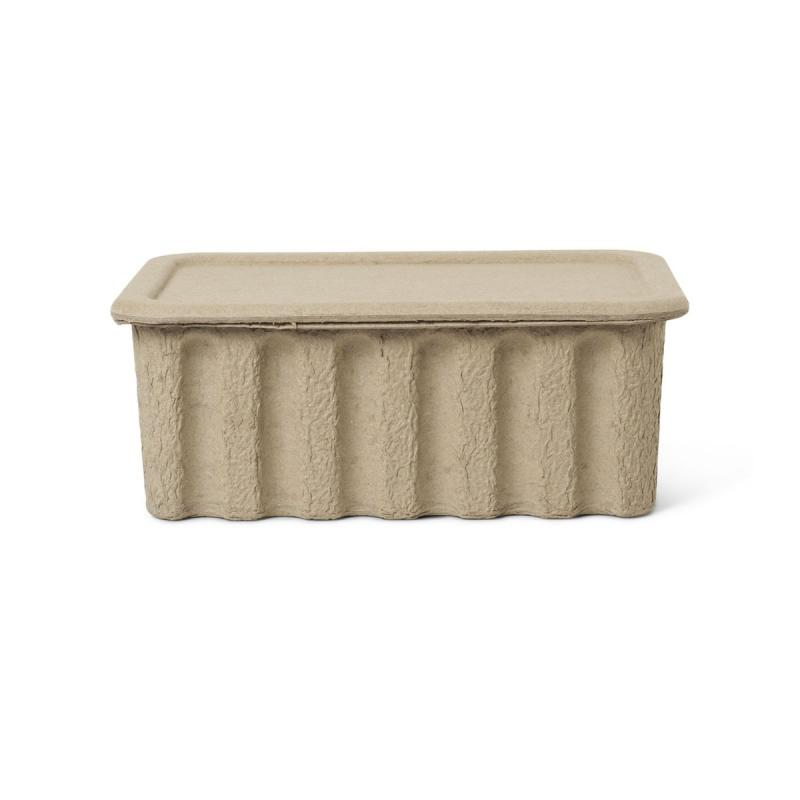 Paper Pulp Box, Large, Set of 2