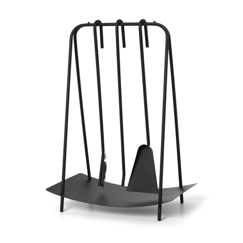 Port Fireplace Tools, Black