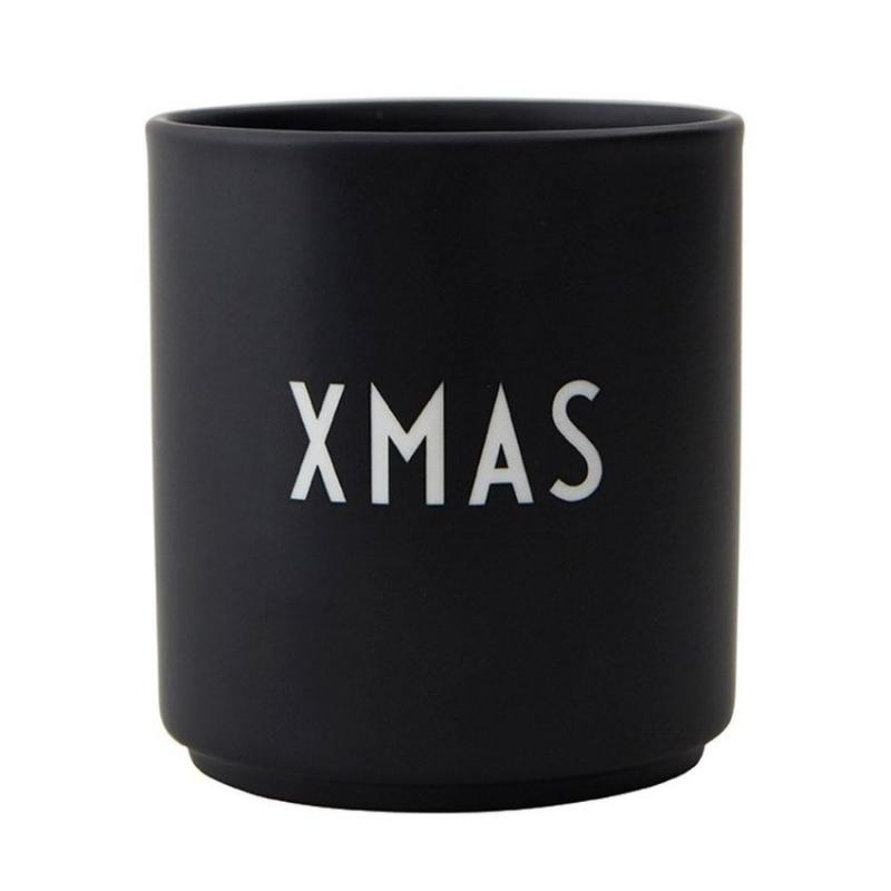 Favourite Cup, Xmas, Black