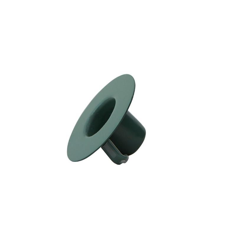 Candle Holder Insert, Dark Green