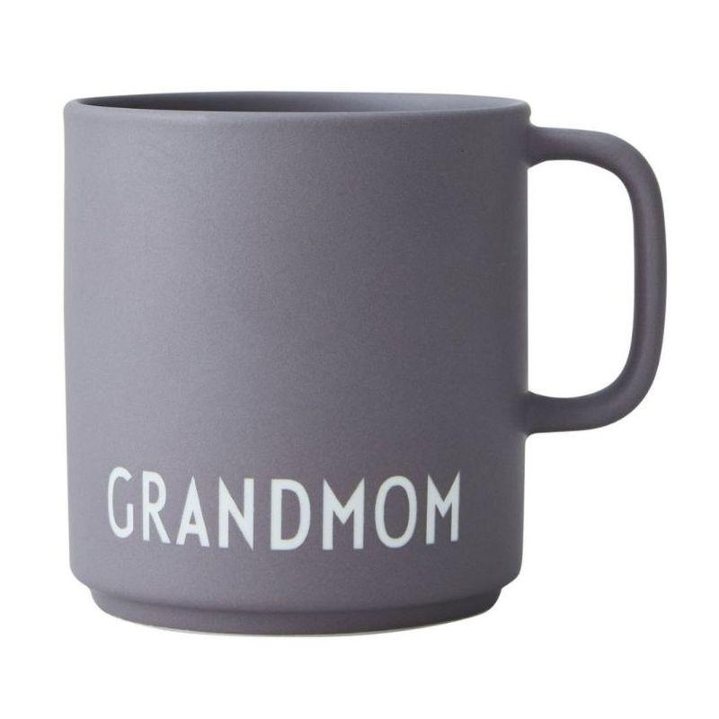 Favourite Cup With Handle, Grandmom, Dark Purple