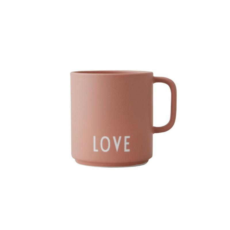 Favourite Cup With Handle, Love, Nude