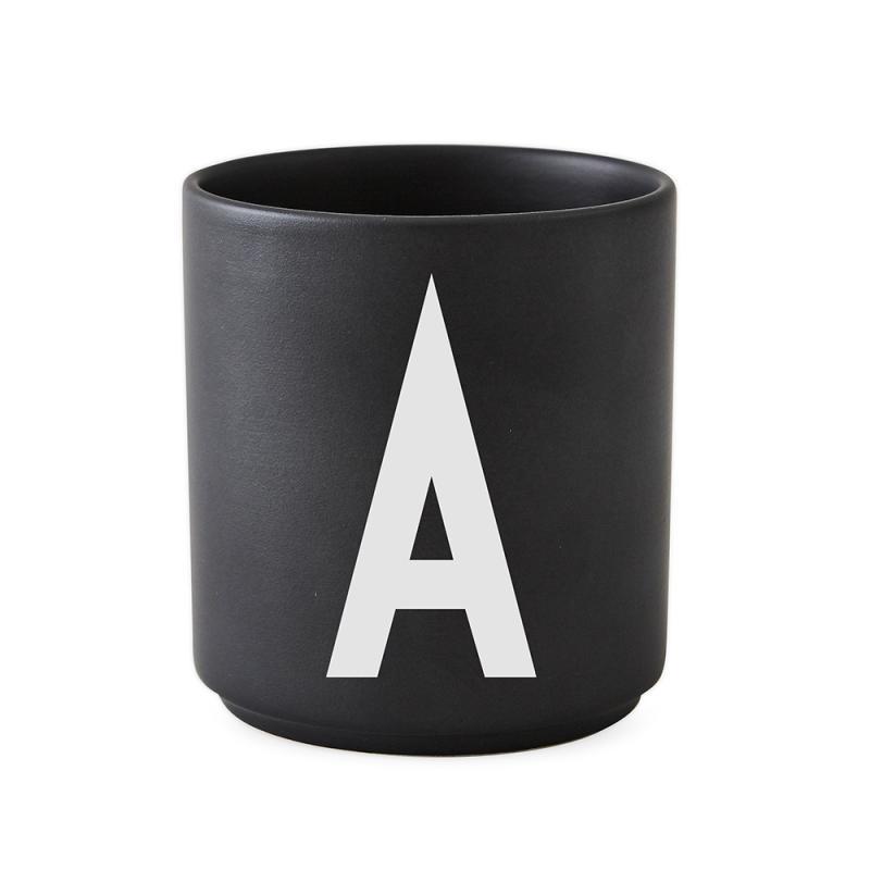 Black Personal Porcelain Cup