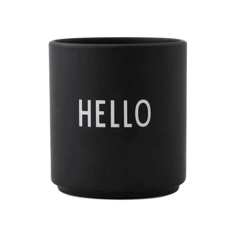 Favourite Cup, Hello, Black