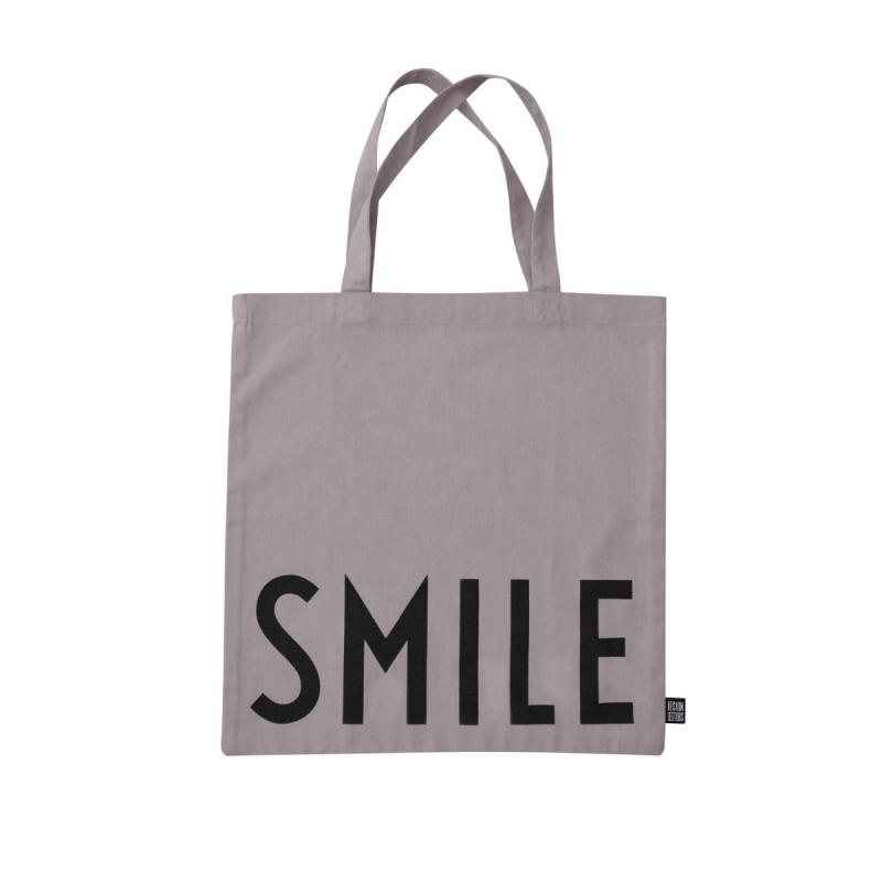 Favourite Tote Bag, Smile, Purple