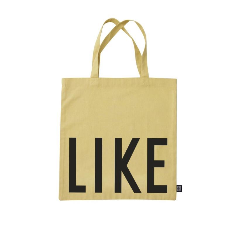 Favourite Tote Bag, Like, Yellow