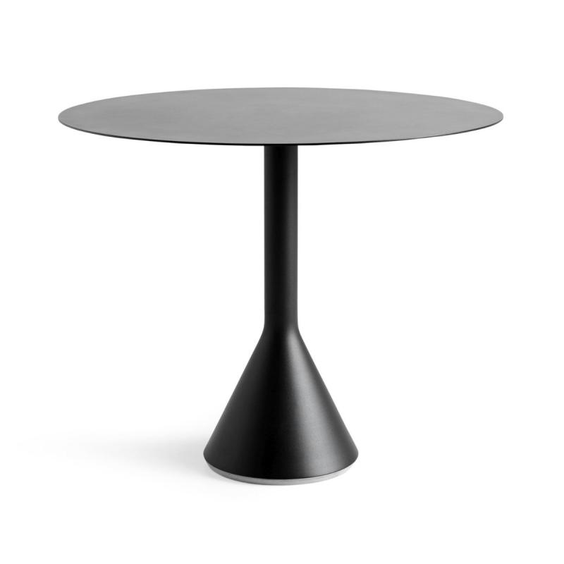 Palissade Cone Table, Ø90cm, Anthracite