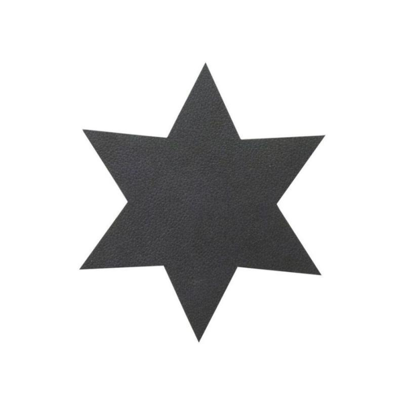 Star Glass Mat, Nupo Leather