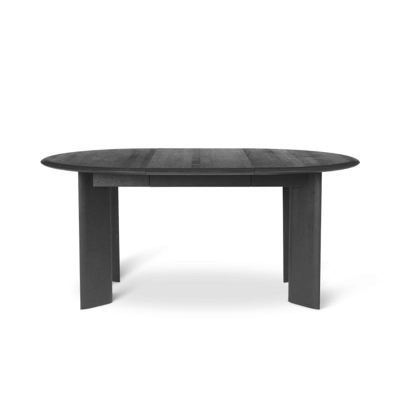 Bevel Table, Extendable, Ø117-217cm