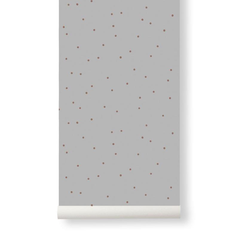 Dot Wallpaper, Grey