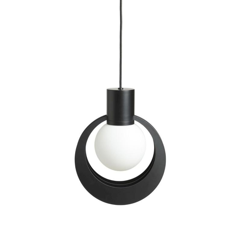 Lunar Pendant, Medium, Black