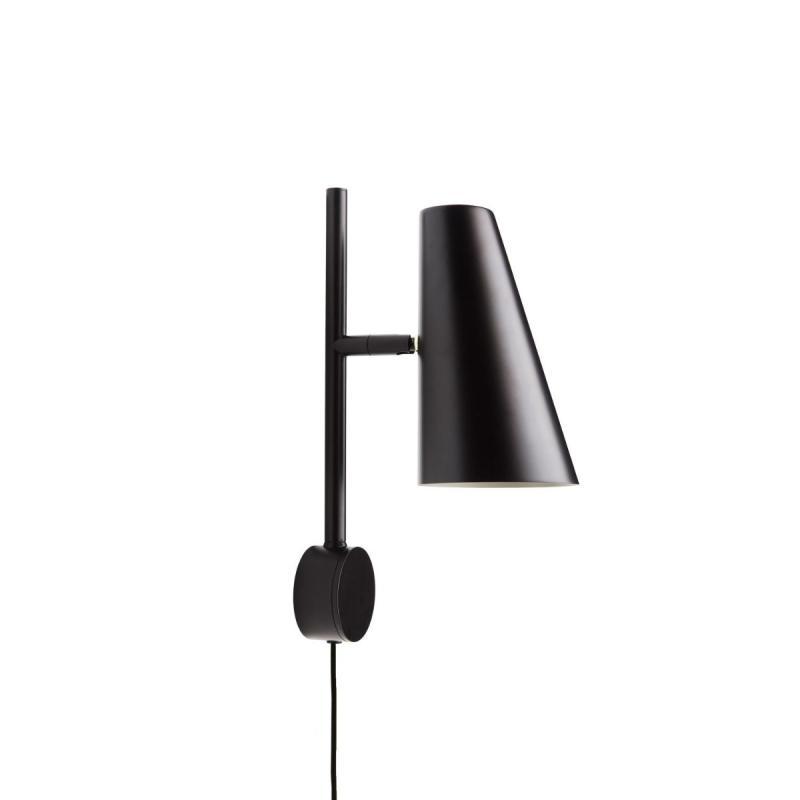 Cono Wall Lamp, Black