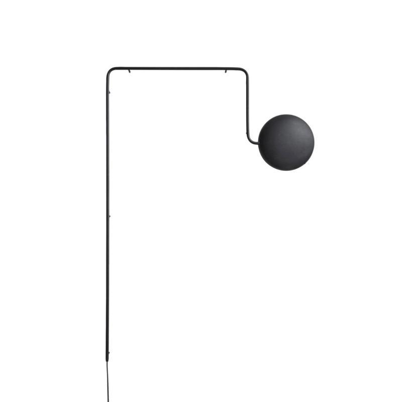 Mercury Wall Lamp, Black
