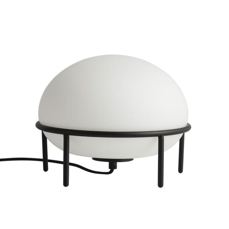 Pump Table Lamp, Black