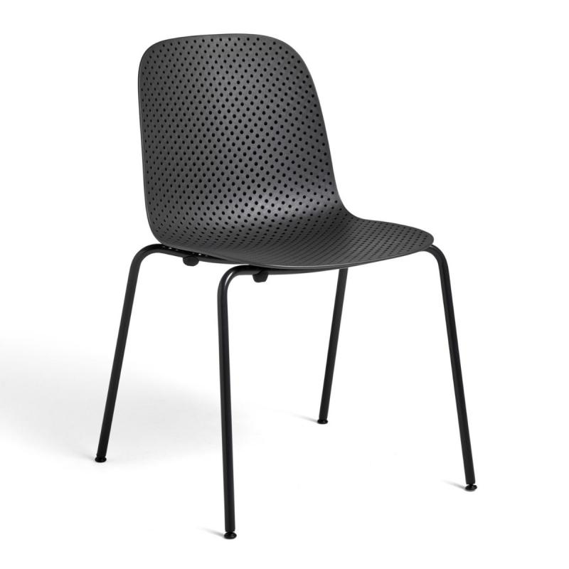 13eighty Chair, Black Shell / Black Base