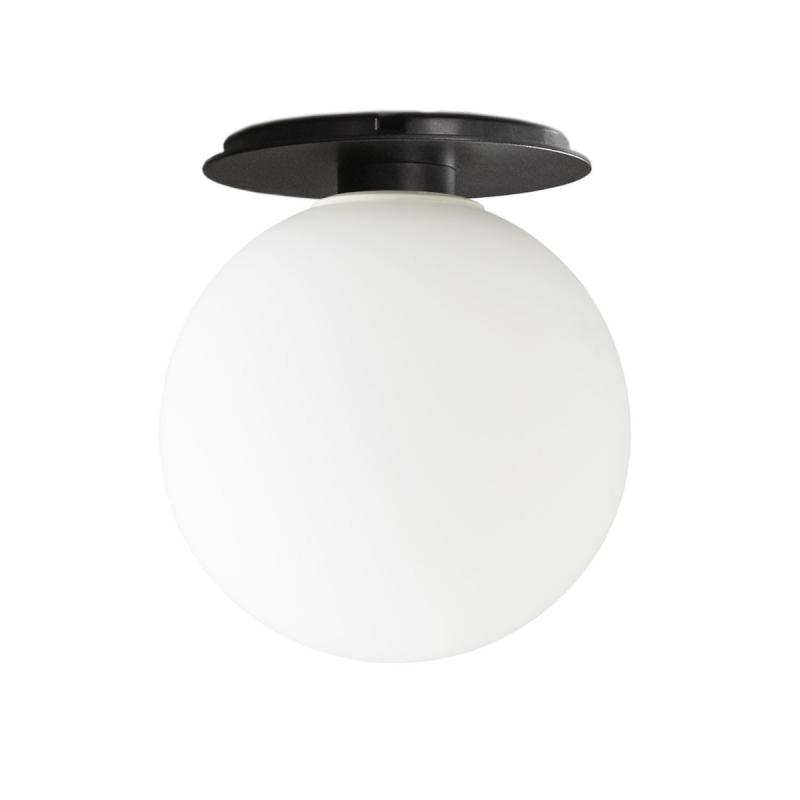 TR Bulb, Ceiling/Wall Lamp, Black