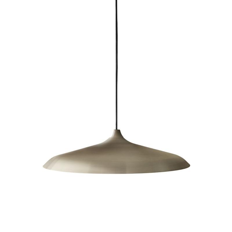 Circular Lamp, Brushed Bronze