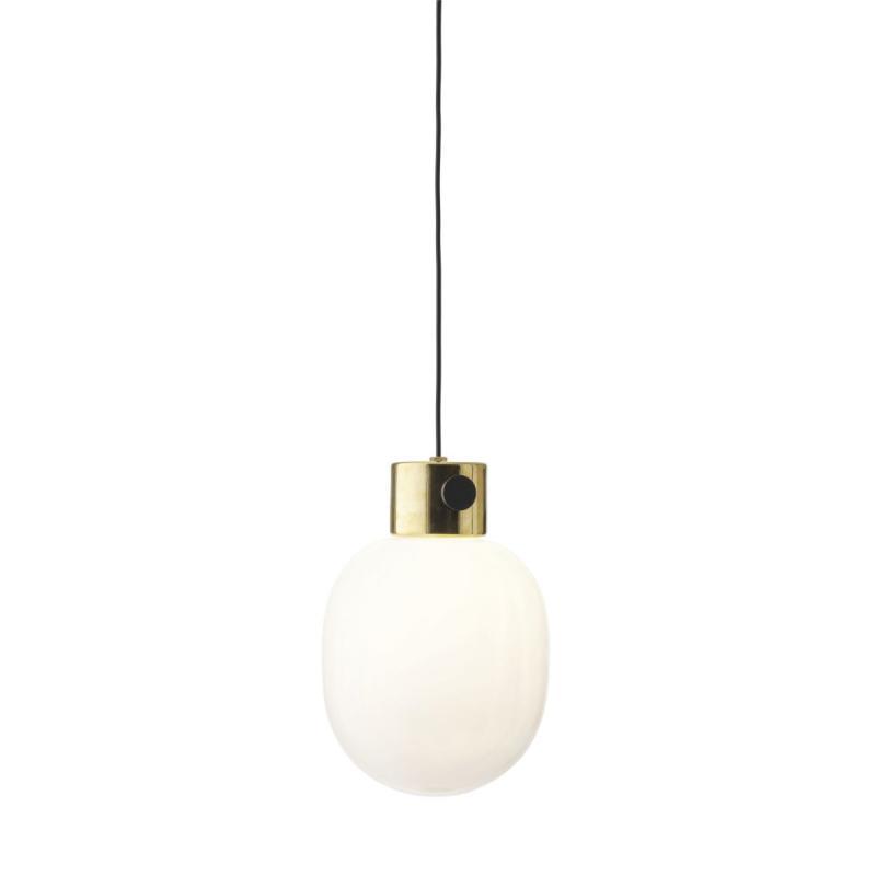 JWDA Pendant Lamp, Polished Brass