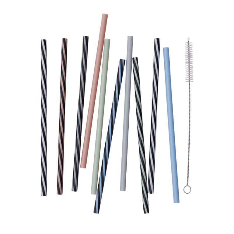 Straws, 10 pcs