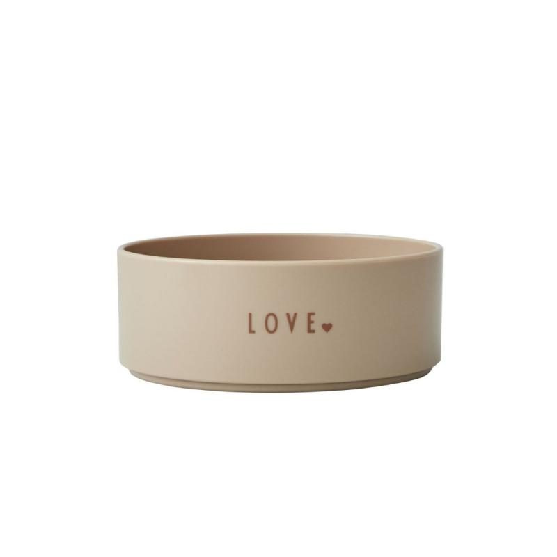 Mini Favourite Bowl, Love, Beige