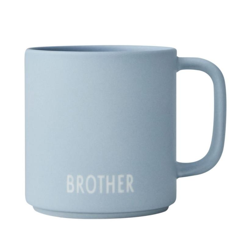 Favourite Cup With Handle, Brother, Light Blue