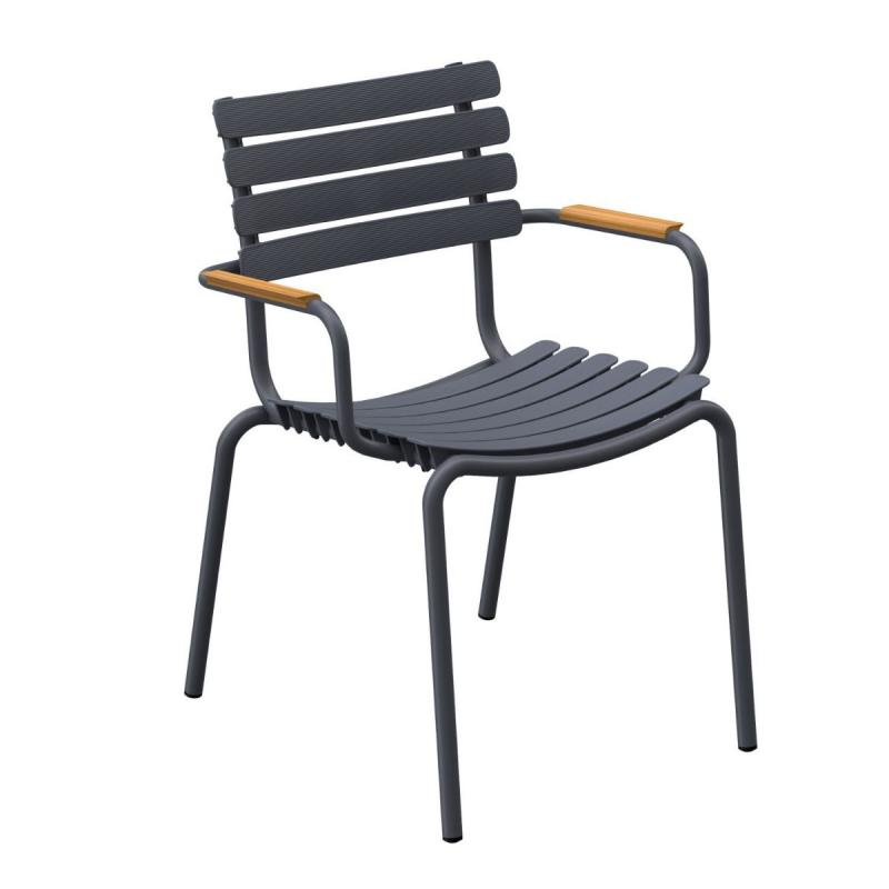 ReCLIPS Dining Chair With Bamboo Armrest