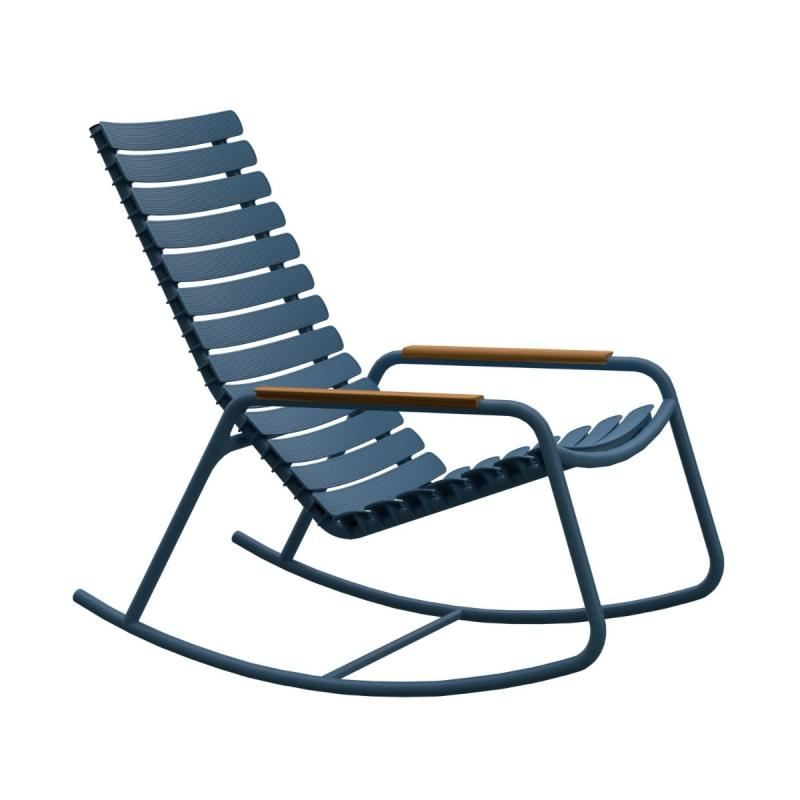 ReCLIPS Rocking Chair With Bamboo Armrest
