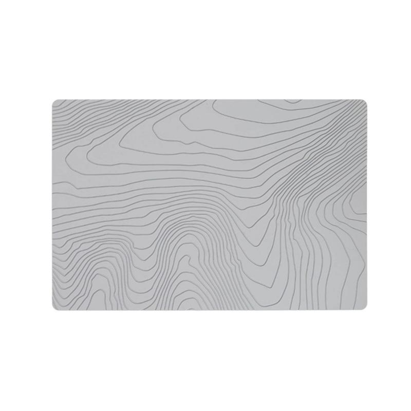 Fjord Place Mat, Pencil Grey