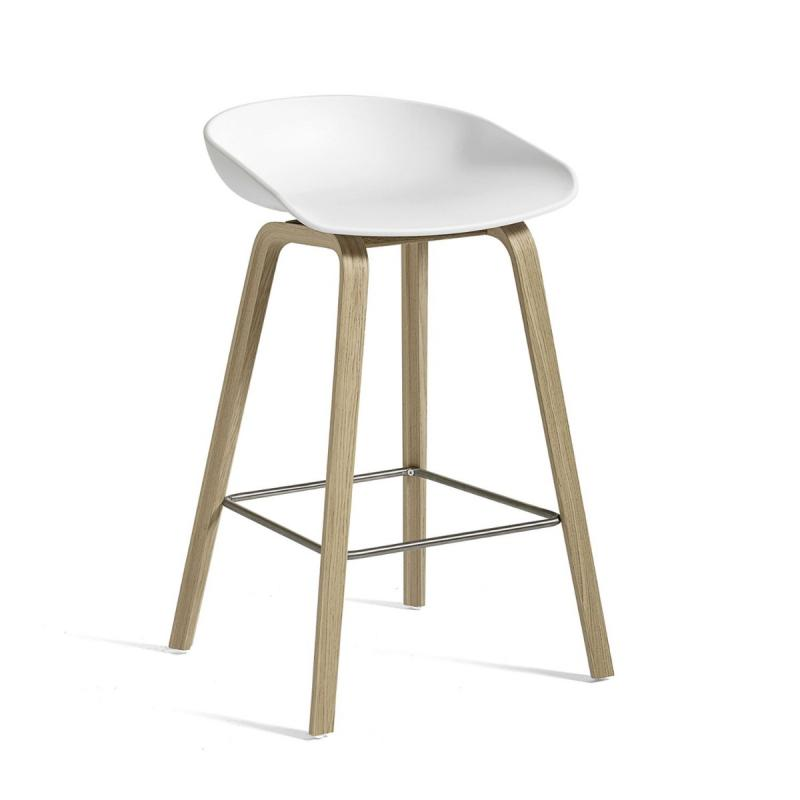AAS 32 Bar Stool, Low, With Standard Gliders
