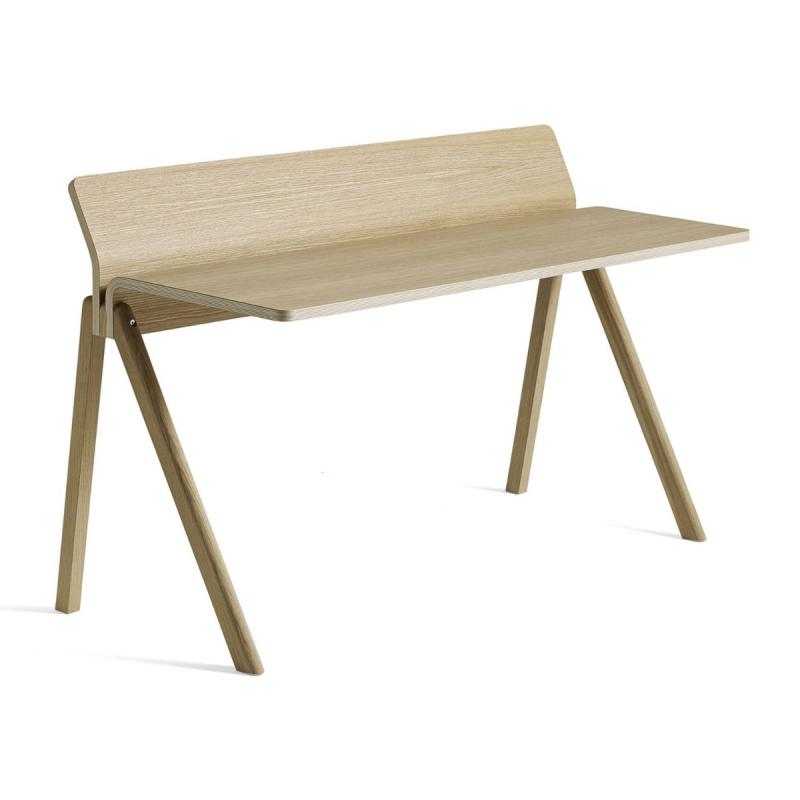 CPH 190 Desk, Oak Veneer Top, Oak Base