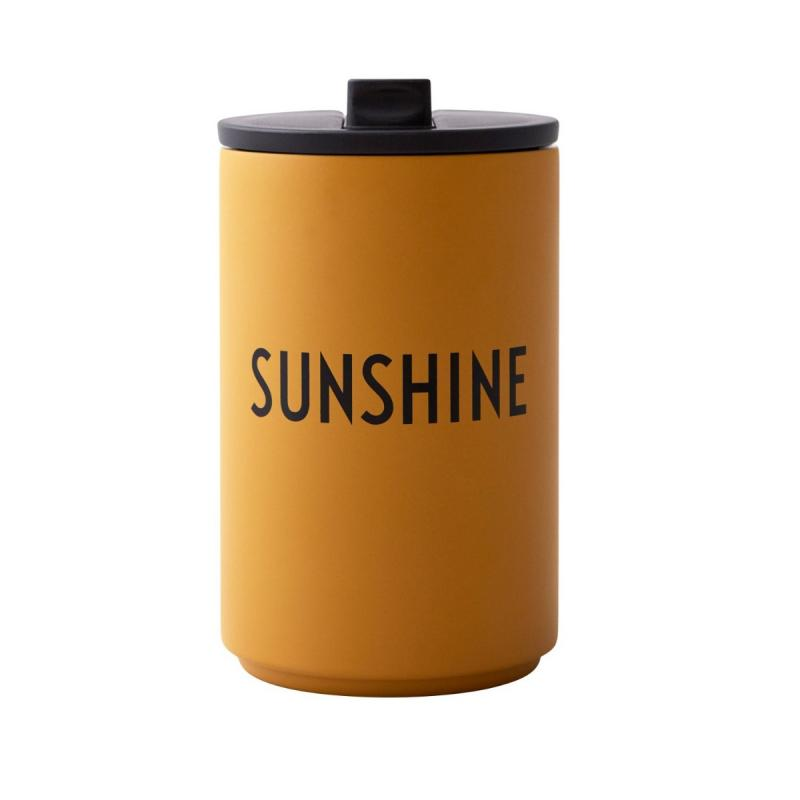 Thermo/Insulated Cup, Sunshine, Mustard