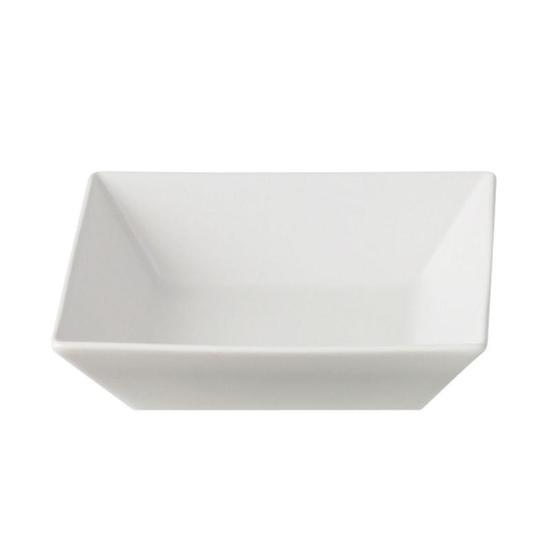 Quadro Stoneware Bowl, White