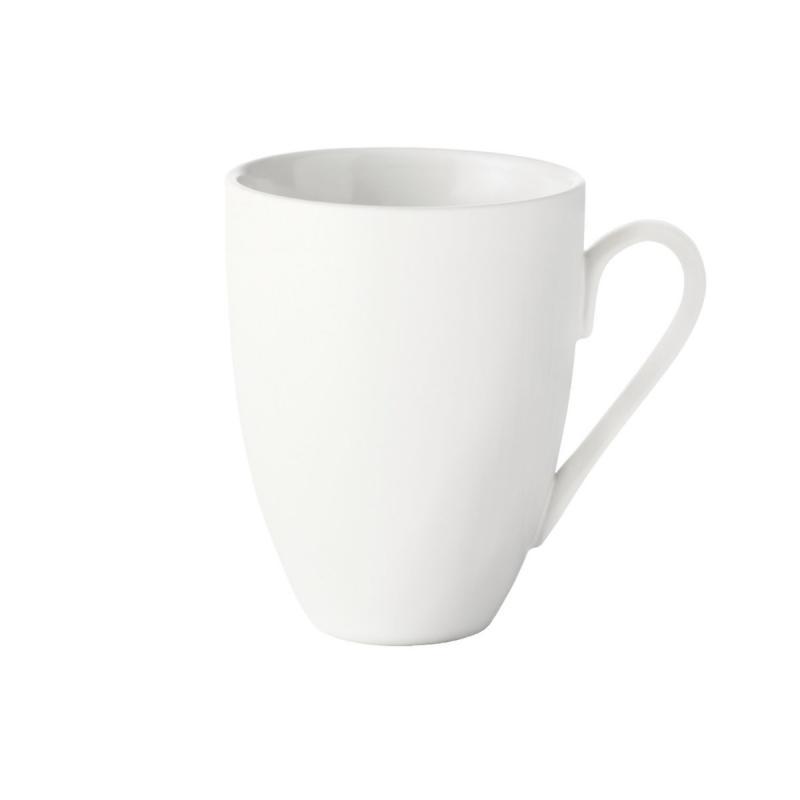 Quadro Stoneware Mug, White