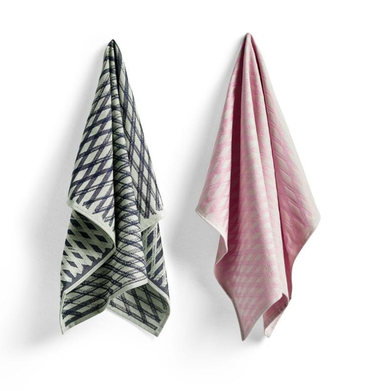 Tea Towel S&B, Set of 2, No 4 Marker Diamond