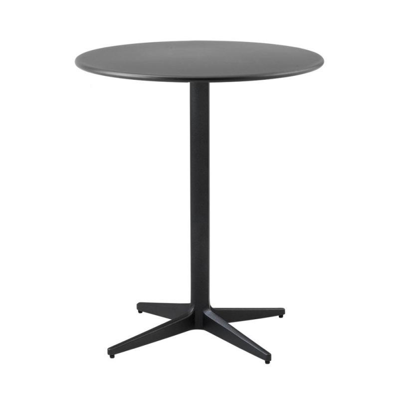 Drop Cafe Table, Ø60cm, Lava Grey Base