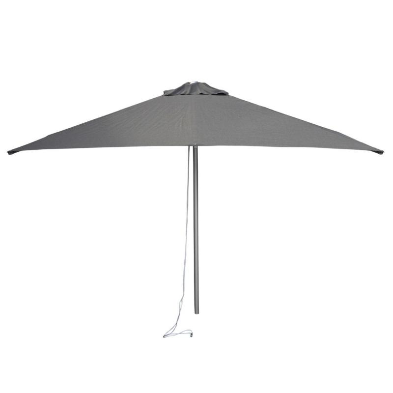 Harbour Parasol With Pulley System, 2x2m, Anthracite