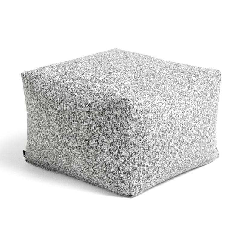 Pouf, Grey Sprinkle