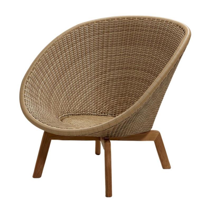 Peacock Lounge Chair, Weave