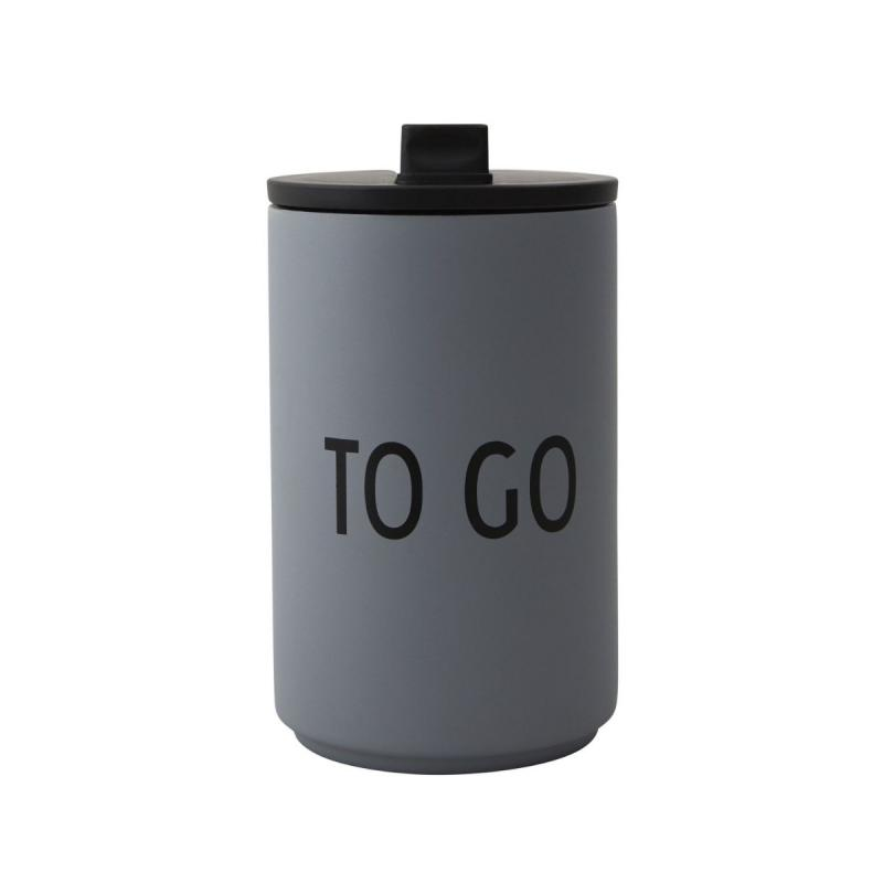 Thermo/Insulated Cup, To Go, Grey