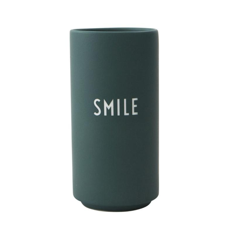 Favourite Vase, Smile, Dark Green