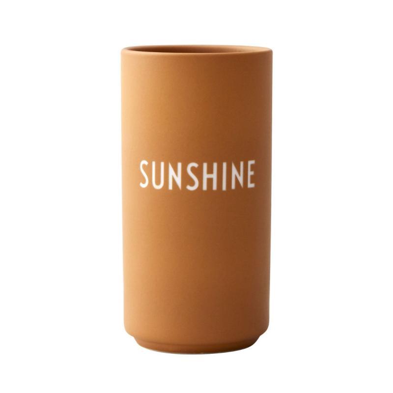 Favourite Vase, Sunshine, Mustard