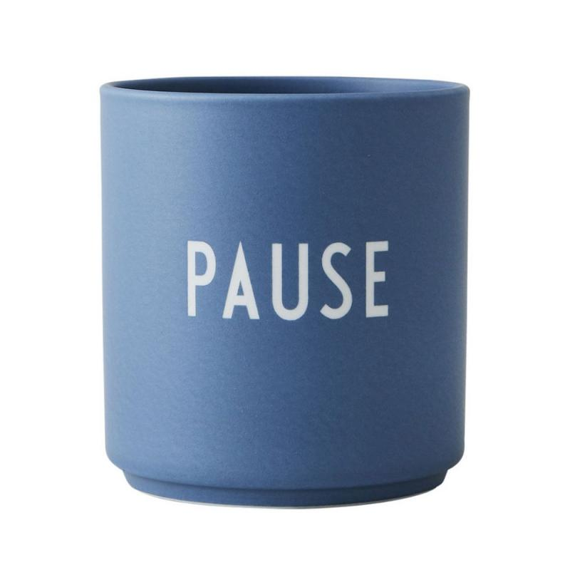 Favourite Cup, Pause, Blue