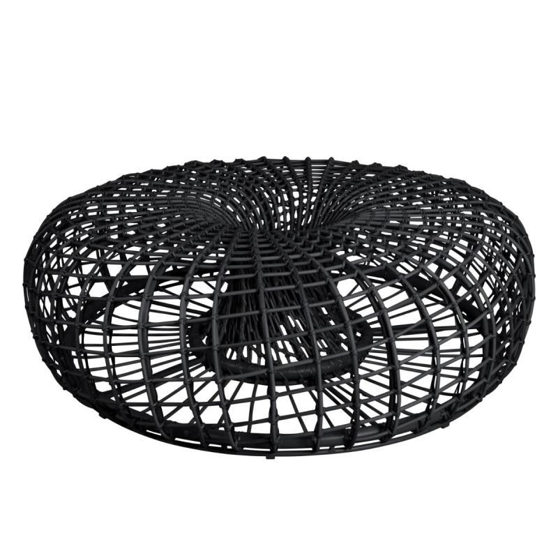 Nest Footstool / Coffee Table, Large, Lava Grey