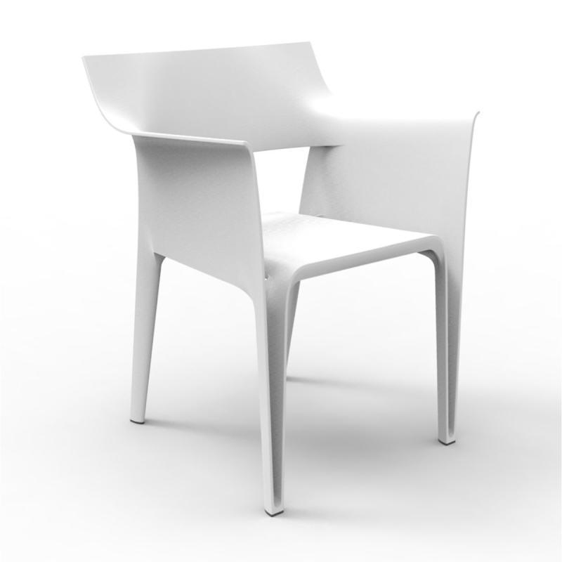 Pedrera Armchair, White