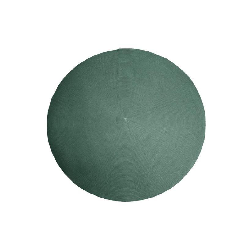 Circle Carpet, Ø200cm, Dark Green